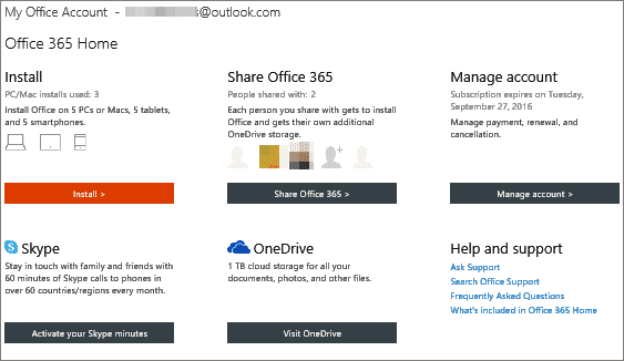MS office setup download and install